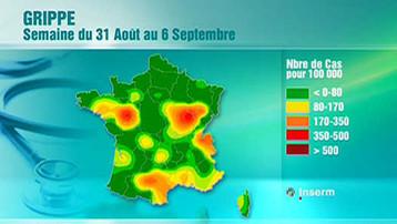Semaine du 31 août au 6 septembre 2009, source: TF1