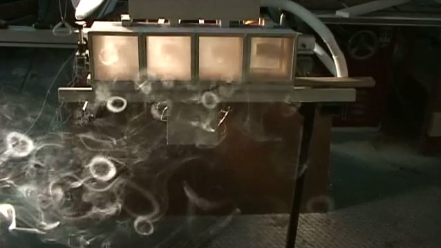 smoke rings machine